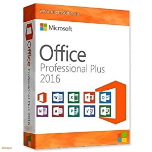 You are purchasing a Digital Download version of Microsoft Office 2016 Professional Plus. This means that you will receive no official product in the post. However you will receive an email with your licence key and a link to the Official Microsoft W...