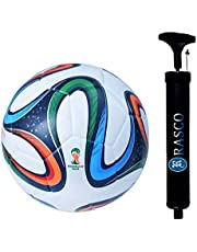 RASCO Combo 4 Color Football with Air Pump