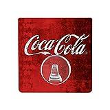 WENKO 4369720100 Static-Loc Wandhaken UNO Coca-Cola Classic, Handtuch-Haken, Befestigen ohne bohren, Polyethylenterephthalat, 8 x 8 cm, Mehrfarbig