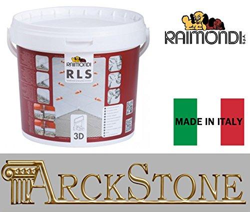 ARCKSTONE Kit Pavimento 3D: 75 basi 3D 3-12 mm per fuga da 1,5 mm + (Pinza Delle Mattonelle)
