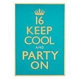 Hallmark Karte zum 16. Geburtstag für IhnKeep Cool–Medium