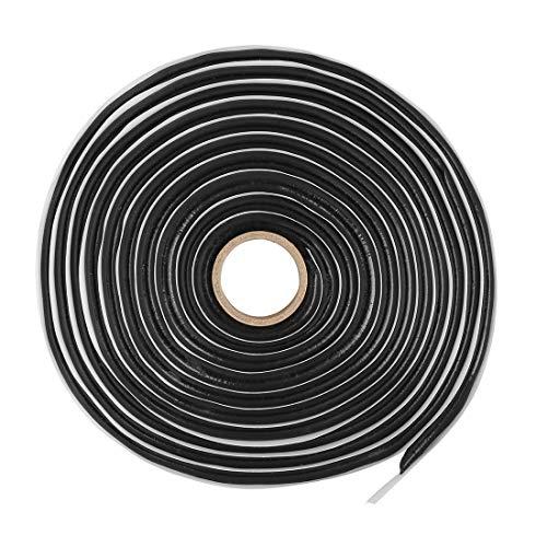 X AUTOHAUX Butyl-Dichtungsband für Autos, Wohnmobile, Scheinwerfer, Tür, 3,8 m -