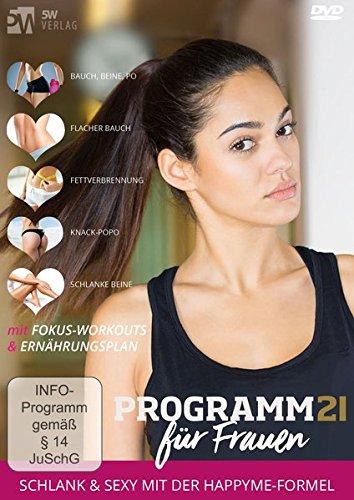 21happyme ++ Programm 21 für Frauen ++ Schlank in 21 Tagen ++ [2 DVDs]