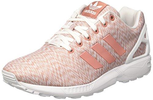 adidas Damen ZX Flux High-Top, Pink (Raw Pink/Raw Pink/Ftwr White), 42 2/3 EU (High Adidas Schuhe Top)