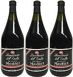 Lambrusco rosso Dell`Emilia IGT MEDICI (3 X 1,50 L) - Vino Frizzante - Roter Süßer Perlwein