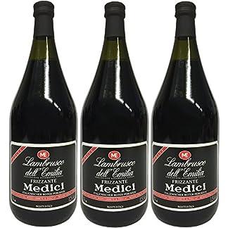 Lambrusco-rosso-DellEmilia-IGT-MEDICI-3-X-150-L-Vino-Frizzante-Roter-Ser-Perlwein