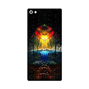 Digi Fashion Designer Back Cover with direct 3D sublimation printing for Micromax Canvas Sliver 5 Q450