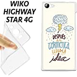 K130 FUNDA CARCASA WIKO HIGHWAY STAR 4G BLANDA GEL TPU LLEGA LA IDEA ORIGINAL BONITA