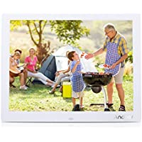 Andoer 15'' HD TFT-LCD 1024*768 Marcos Digital de Fotos MP3 MP4 Movie Player con Escritorio Remoto