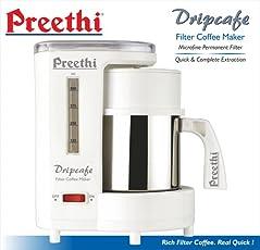 Preethi Dripcafe Coffee Maker (White)