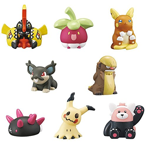 Pokemon Kids Sun & Moon Vs Kapu Kokeko~Finger puppet type Figure~Complete set of 8