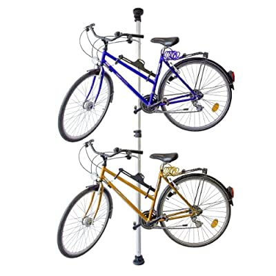 Telescopic Storage Stand For 2 Bicycles