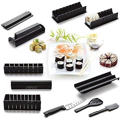 AGPtek Bollitore per sushi set set riso rotolo cucina fai