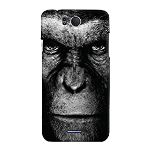 ColourCrust Infocus M530 Mobile Phone Back Cover With Gorilla - Durable Matte Finish Hard Plastic Slim Case