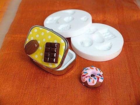 Mini moule silicone gourmandises - DTM loisirs créatifs