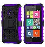 Cruzerlite SPI Force Dual Layer Case for Nokia Lumia 530 - Purple (Retail Packaging)