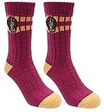 Weinrot-gelbe Socken HARRY POTTER