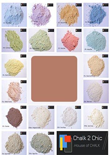 Chalk 2Chic Pulverkreide / Farbe zur Selbstherstellung, 312g für bis zu 2Liter Farbe, für...