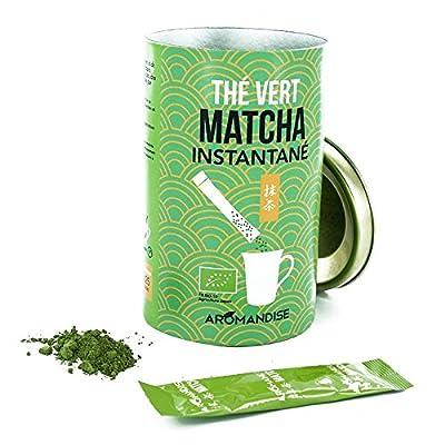 Thé vert Matcha Bio instantané