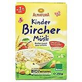 Alnatura Bio Kinder Bircher Müsli, 6er Pack (6 x 250 g)