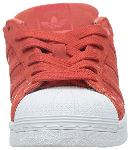 adidas Originals Superstar Damen Sneakers Rot (Tomato F15-ST/Tomato F15-ST/FTWR White)