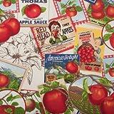StoffHandwerker Dekostoff - Amerikas Apple Sauce