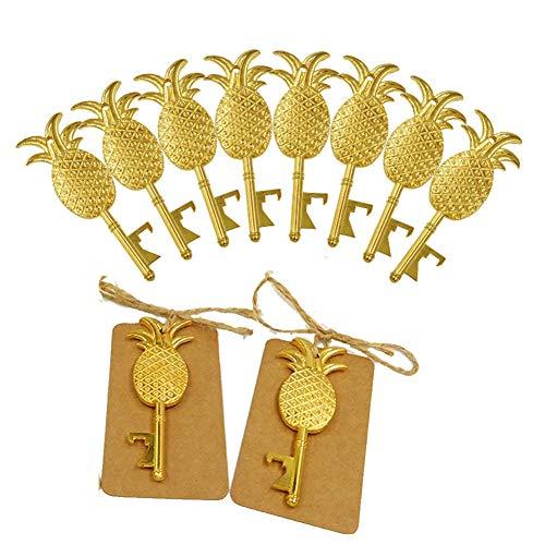 eapple Key-Zink-Legierung mit Karton-Tag-Karte Party Favors Event Party Supplies (Packung mit 10) ()