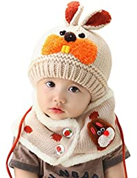 Babybekleidung Hüte & Mützen Longra Baby Schal jungen Mädchen Kleinkinder Hasen Zähne Schal Kind Schal Hüte Mützen