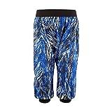 Zumba Damen Frill Me Harem Caprihose Blau Surfs-Up Blue XS