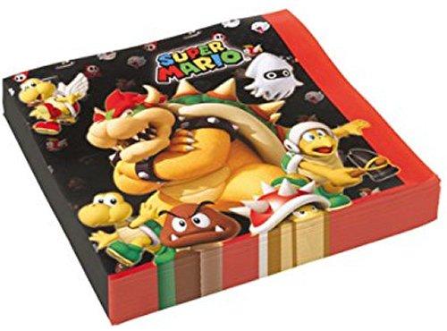 NEU Servietten Super Mario, 20 Stück