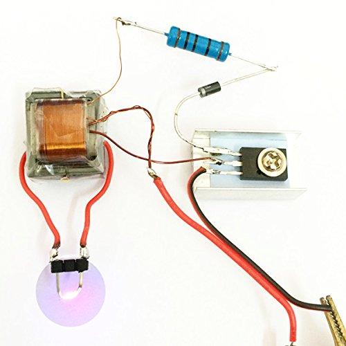 LaDicha 5X Inverter Boost Hochdruck Generator Arc Zünd Feuerzeug Spulen Modul Electronic Diy Produktions-Kit