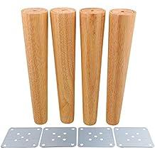 Amazon.it: gambe per tavoli legno