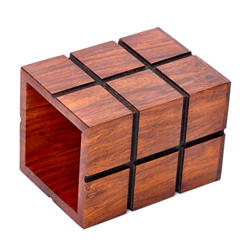 Hashcart Wooden Pen Pencil Holder Desk Storage Organizer for Office Desk - The Perfect Office Accessory & Gift