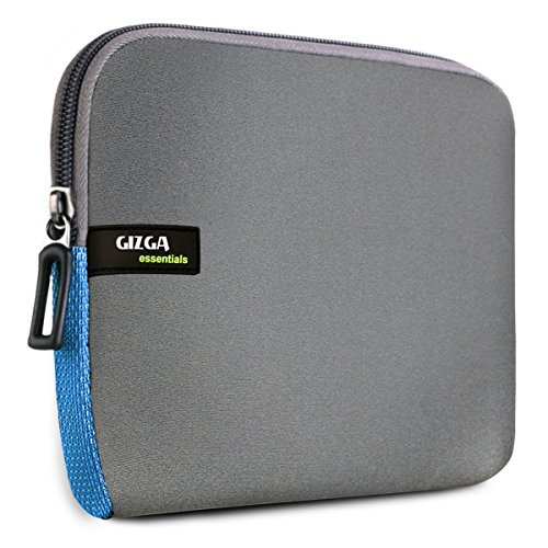 Gizga Essentials Premium 6-Inch Sleeve for Amazon Kindle Paperwhite, Kindle E-Reader, Kindle Voyage & Kindle Oasis (Gray-Blue)  available at amazon for Rs.399