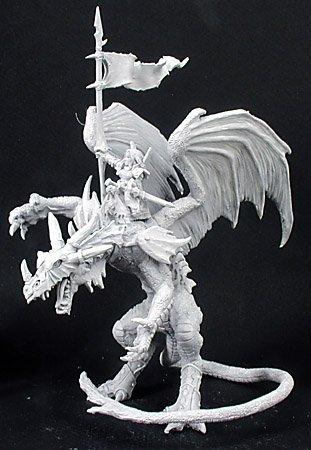 Kyra & Lavarath by Dark Heaven - Dragons & Dragonkin Metal - Metal Dragon Dark
