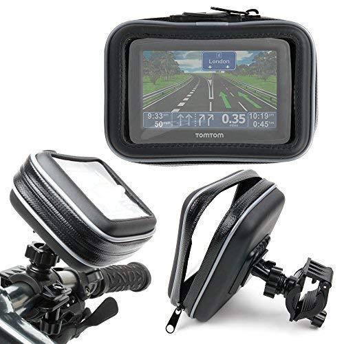 DURAGADGET hervorragende Fahrradhalterung mit Schutzhülle für GPS, TomTom XL Classic Series Iberia (IB)/Classic Series We–wasserdicht