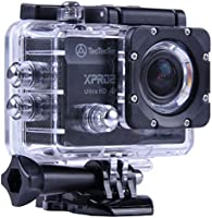 [NUOVO] TecTecTec XPRO2 Action Camera Ultra HD 4K - WiFi Camera di altissima qualità Ultra HD 16 Mp Black