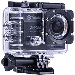 TecTecTec XPRO2 Caméra Sport 4K Ultra HD WiFi - Camera de Sport et Action étanche Caméras Sport embarquées Action Cam