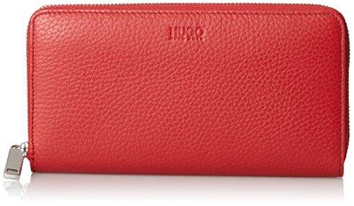 HUGO Damen Mayfair Zip Around Geldbörse, Rot (Bright Red), 1.5x10x19 cm