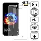 [2 Pack] Guran® Glass Protector pour Honor 8 Pro Smartphone Screen Verre Trempé Protecteur d'écran Résistant aux éraflures