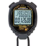 ACCUSPLIT AX602 100 Memory Stopwatch (Black) by ACCUSPLIT
