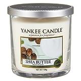 Yankee Candle bougie petite colonne «Beurre de karité», crème