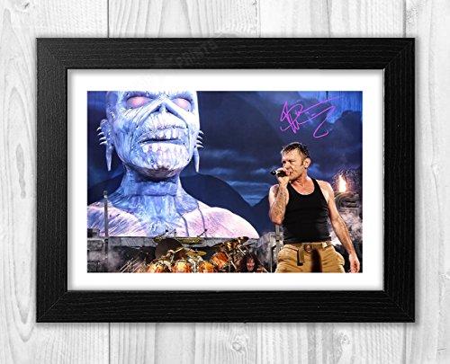 Engravia Digital Bruce Dickinson Iron Maiden Poster