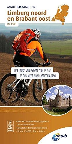 Radwanderkarte 19 Limburg noord, Brabant oost & De Peel 1:50 000 (ANWB fietskaart (19)) Elektronik 19