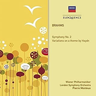 Brahms: Symphony No. 2; Variations On A Theme By Haydn by Pierre Monteux (B011ATJ8OS) | Amazon price tracker / tracking, Amazon price history charts, Amazon price watches, Amazon price drop alerts