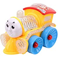 Zaprap Multicolor Musical Funny Loco Train Engine with flashing Led Lights