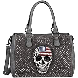 OBC Only-Beautiful-Couture - al Hombro para Mujer Gris Grau 36x28x14 Cm Large