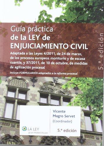 Guía práctica de la Ley de enjuiciamiento civil