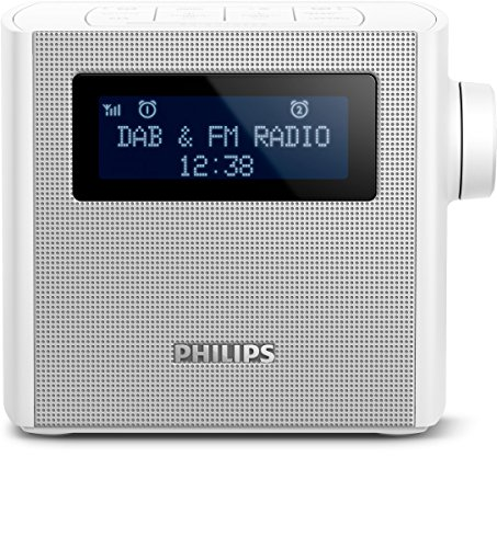 Philips AJB4300W/12 Radiowecker DAB+