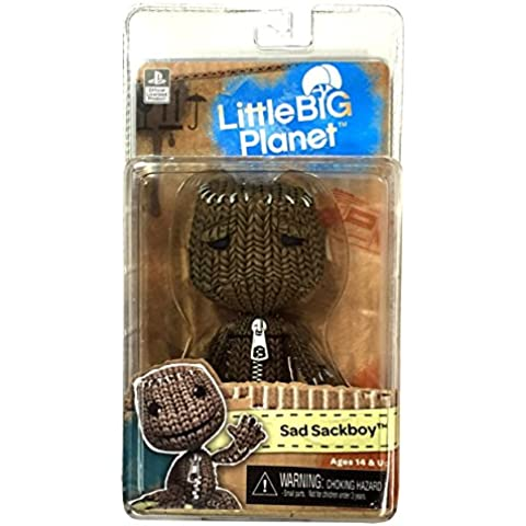 Import Europe - Figura Sackboy Sad LittleBigPlanet, Serie 1